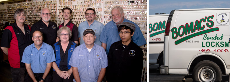 The Bomacs Locksmith Team